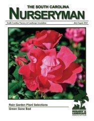 July / August 2013 Edition - South Carolina Nursery & Landscape ...
