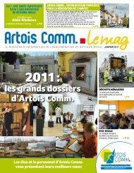 Le Mag janvier 2011 - Artois Comm.
