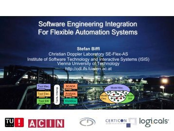 Software Engineering Integration For Flexible Automation Systems