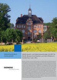 Städtisches Klinikum Görlitz gGmbH Mobile Sprach- und ...