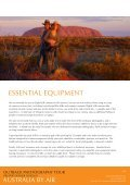 OUTBACK PHOTOGRAPHY TOUR - Ewen Bell - Page 6