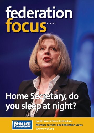 Home Secretary, do you sleep at night? - the South Wales Police ...