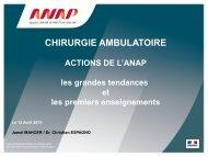 ANAP et Haute Autorité de - ARS Poitou-Charentes