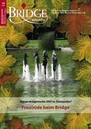 Oktober 2007 - Deutscher Bridge-Verband e.V.