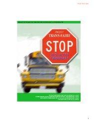 Projet Trans-faire 1 - Commission scolaire de Kamouraska—Rivière ...