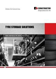 tyre storage solutions - Dexion