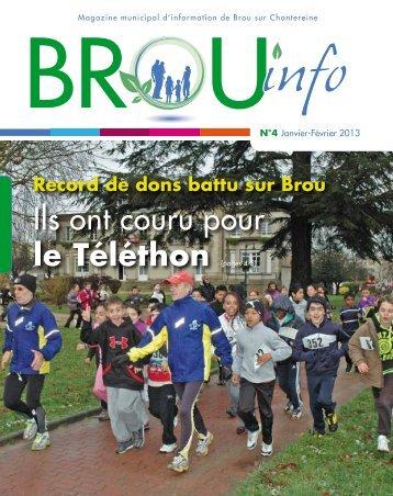 Ils ont couru pour le Téléthon (pages 4-5) - Brou Sur Chantereine