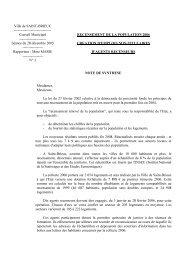 Délibération N° 3 : Recensement de la population ... - Saint-Brieuc
