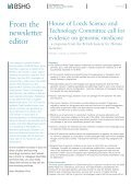The Newsletter of the British Society for Human Genetics - EURASNET - Page 2