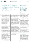 The Newsletter of the British Society for Human Genetics - EURASNET - Page 7