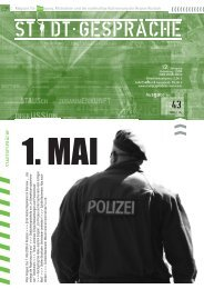 1. Mai - Stadtgespräche Rostock