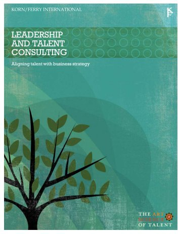 Leadership and Talent Consulting Brochure - Lominger
