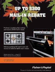 up to $300 MAIL-IN RebAte - Coast Wholesale Appliances