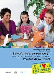 III edycja_Szkolny system bezpieczeństwa - Szkoła bez przemocy
