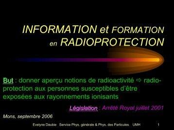 Rayonnement ionisant - Français