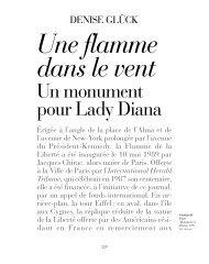 Une flamme dans le vent : un monument pour Lady Diana