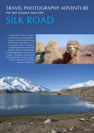 SILK ROAD - Photography by Ewen Bell