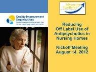 Reducing Antipsychotics presentation - Gmcf