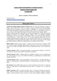 bibliographie indicative proposée par Natacha ... - Maison Populaire
