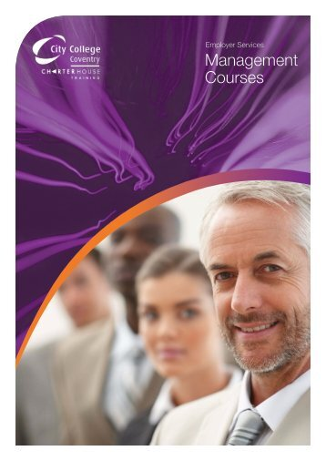 New Management Brochure - Employers - City College Coventry