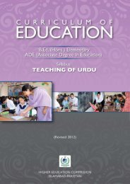 Syllabus semester (3).cdr - USAID Teacher Education Project