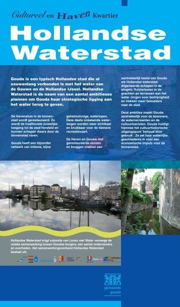 Borden in Waterstad - watererfgoed.nl