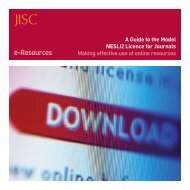 What is the Model NESLi2 Licence? - Jisc Collections