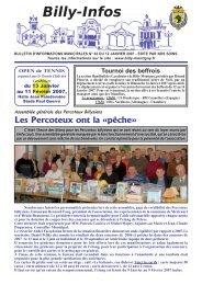 dimanche 14 janvier 2007 - Ville de Billy-Montigny