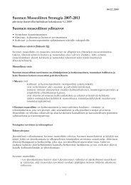strategia 04.02.09 - Suomen museoliitto