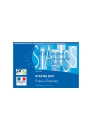 STATistiques Indicateurs Santé Social - ARS Poitou-Charentes