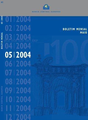 B. Mensal BCE - Maio 2004