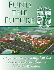 Campaign Brochure - Garces Memorial High School