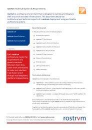 View rostrvm Technical Sheet. - Adtech Global