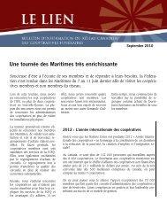 The Link septembre 2010 Français - CoopZone