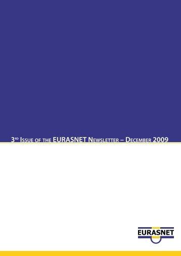 EURASNET NEWSLETTER – DECEMBER 2009