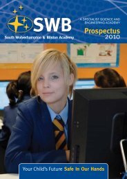 to download the school prospectus - Hays