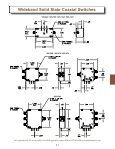 High Power Solid State Coaxial Switch - EMPOS - Page 7