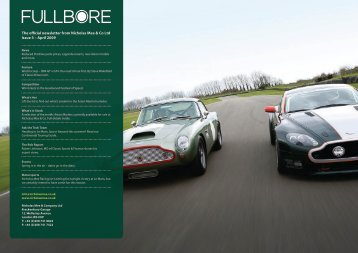 The official newsletter from Nicholas Mee & Co Ltd Issue ... - The Seen