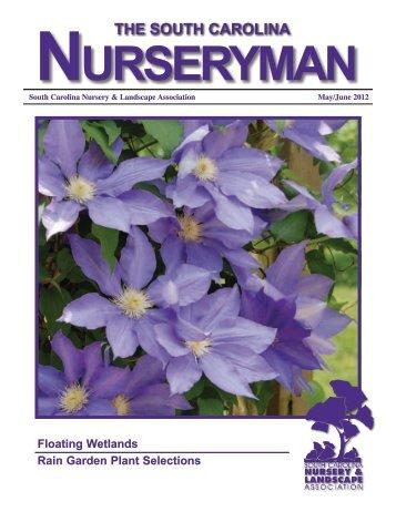 the south carolina - South Carolina Nursery & Landscape Association