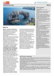 Zielgebietsinformation Mallorca