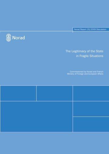 The Legitimacy of the State in Fragile Situations - Institut de ...
