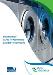Best Practice Guide for Maximising Laundry Performance