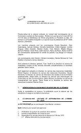 Procès-verbal du 9 mars 2010 - Commission scolaire de ...