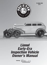 Early Era Inspection Vehicle - Lionel