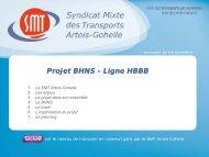 Présentation BHNS.pdf - Conseil de développement - Artois Comm.