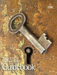 Teaching Artist Guidebook - Mississippi Arts Commission - ms.gov
