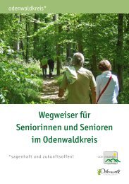 Wegweiser für Seniorinnen und Senioren im Odenwaldkreis
