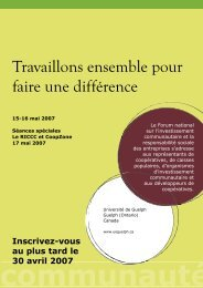 CSR Forum Registration Brochure (French).pdf - CoopZone
