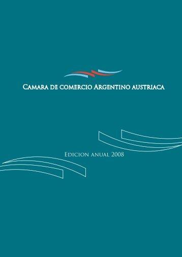 Edicion anual 2008 - Cámara de Comercio Argentino Austríaca