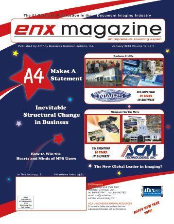 January 2010 Issue PDF - ENX Magazine